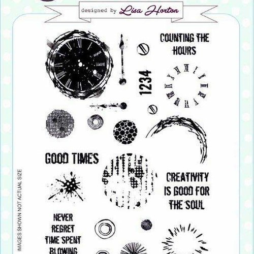 Creative Expressions Clear Stamp set - Circles of time