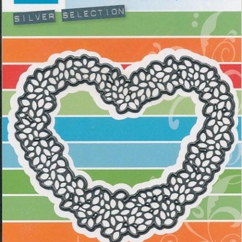 Marianne design Die - hjärtkrans CR1302