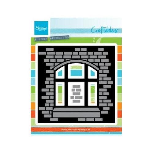 Marianne design Die - tegelvägg fönster CR1389