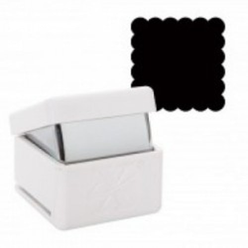 "xcut Punch Large - 1"" scallop square"