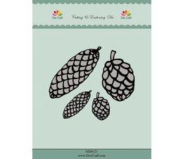 Dixi craft Dies - pinecones MD0121