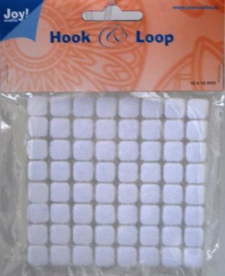 Hook and Loop, Joy! Crafts 10 mm kvadrat