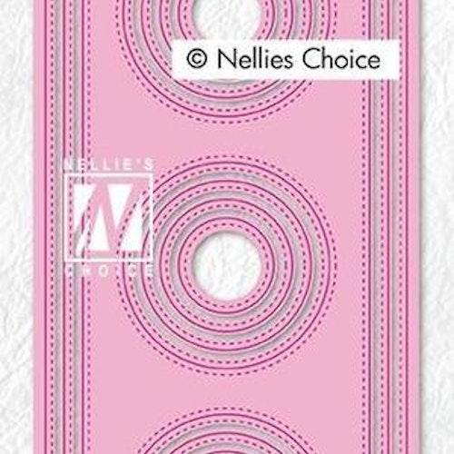Nellie Snellen dies - Slim line Circles