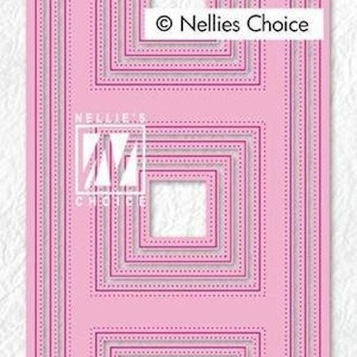 Nellie Snellen dies - Slim line Squares