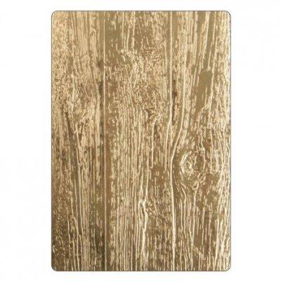 Tim Holtz Sizzix embossingfolder 3D - 662718 Lumber