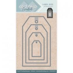 Card deco dies - Tags CDECD0075