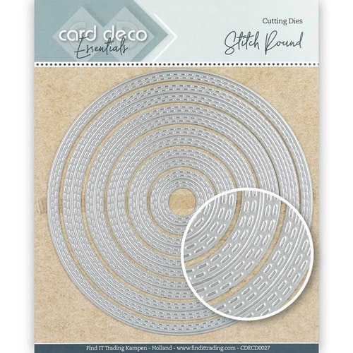 Card deco dies - Circle CDECD0027