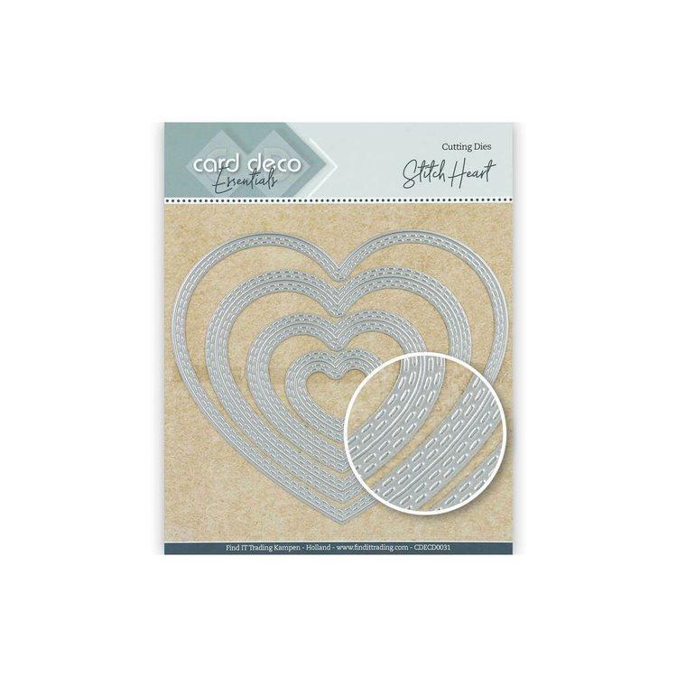 Card deco dies - Heart CDECD0031