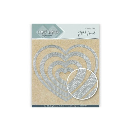 Card deco dies - Heart CDECD0031