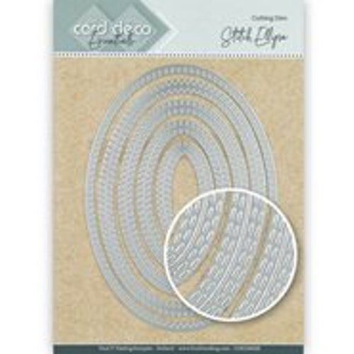 Card deco dies - Oval CDECD0028