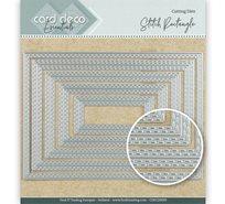 Card deco dies - Rectangle CDECD0029