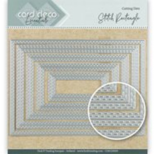 Card deco dies - Rectangle CDECD0029
