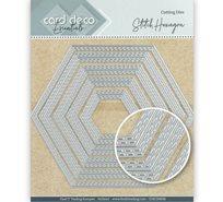 Card deco dies - Hexagon CDECD0030