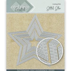 Card deco dies - Star CDECD0032