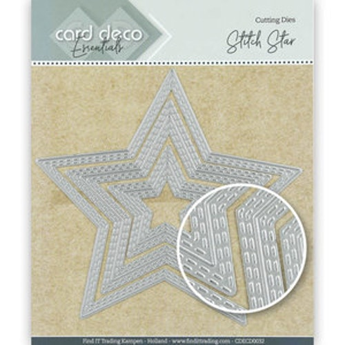Card deco dies - Star CDECD0032