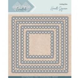 Card deco dies - Heart Square CDECD0100