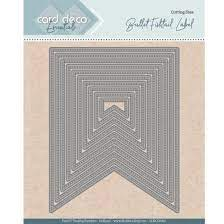 Card deco dies - Bullet Fishtail CDECD0093