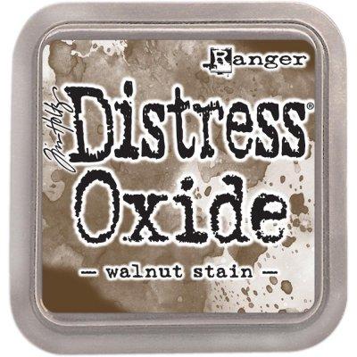 Distress oxide dyna, walnut stain