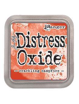 Distress oxide dyna, crackling campfire