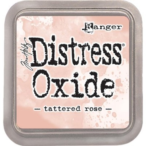 Distress oxide dyna, tattered rose