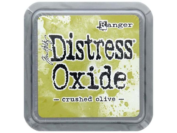 Distress oxide dyna, crushed olive
