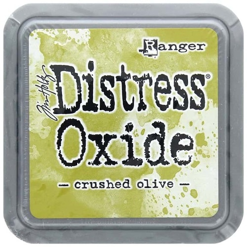 Distress oxide dyna, crushed olive