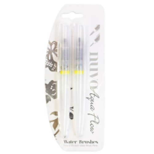 """Nuvo """"Water Brushes"""" 2-pack 889N"""