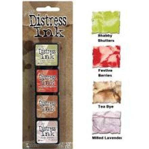 Tim Holtz Distress Mini Ink Kits - 11