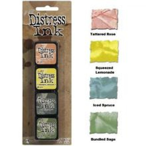 Tim Holtz Distress Mini Ink Kits -10