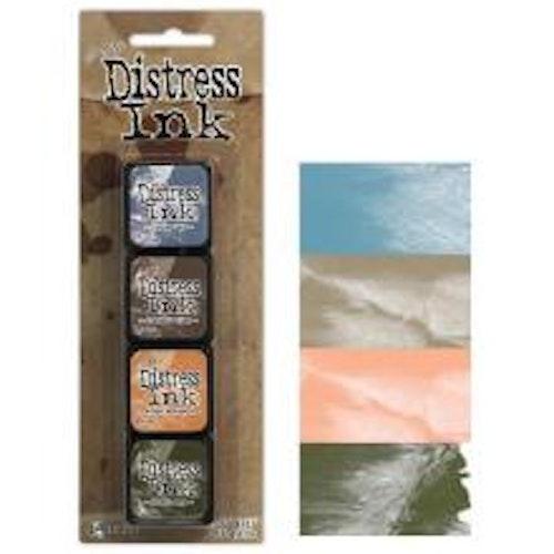 Tim Holtz Distress Mini Ink Kits - 9
