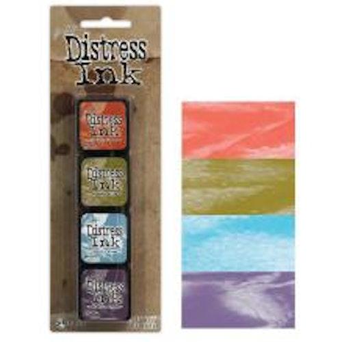Tim Holtz Distress Mini Ink Kits - 8