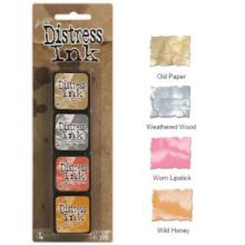 Tim Holtz Distress Mini Ink Kits - 7