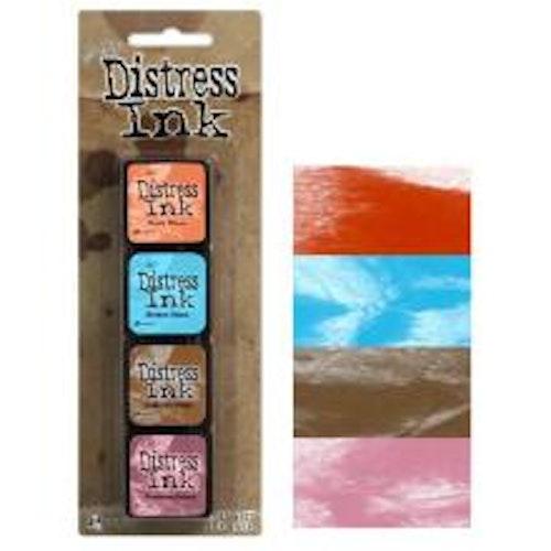 Tim Holtz Distress Mini Ink Kits - 6