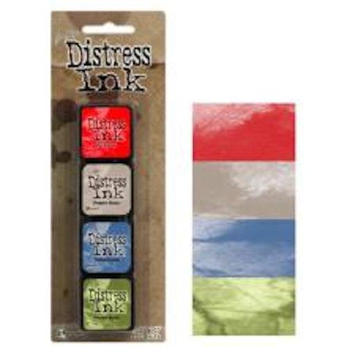 Tim Holtz Distress Mini Ink Kits - 5