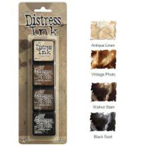 Tim Holtz Distress Mini Ink Kits - 3
