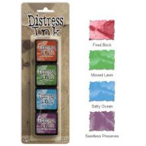 Tim Holtz Distress Mini Ink Kits - 2