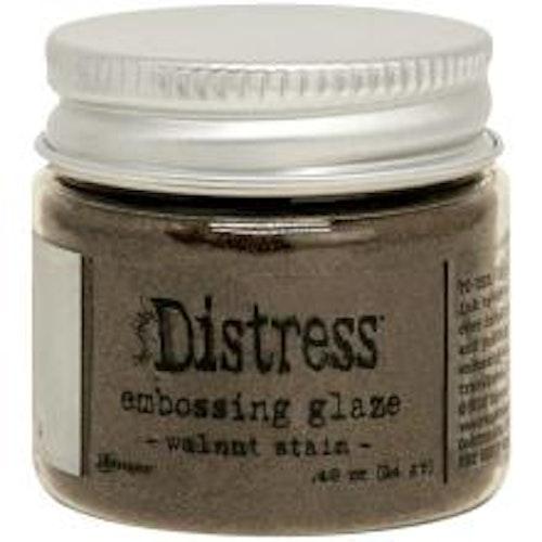 Tim Holtz Distress Embossing Glaze - Walnut Stain