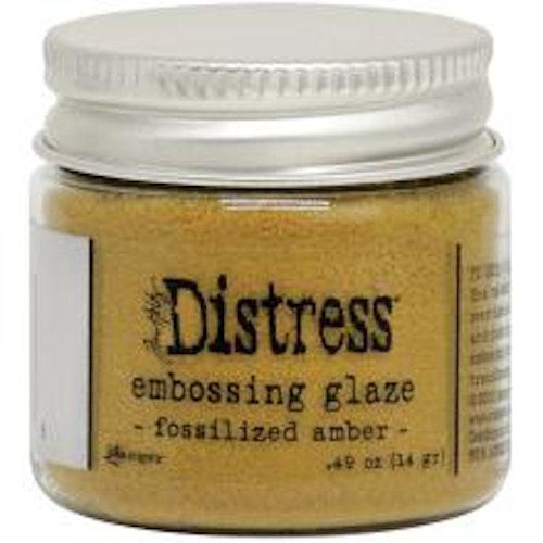Tim Holtz Distress Embossing Glaze - Fossilized Amber