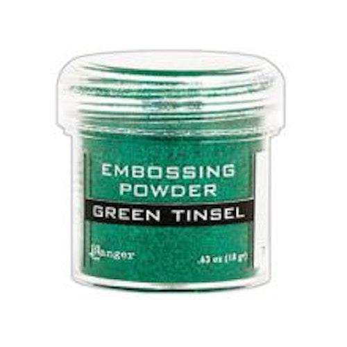 Ranger Embossing Powder - Green Tinsel