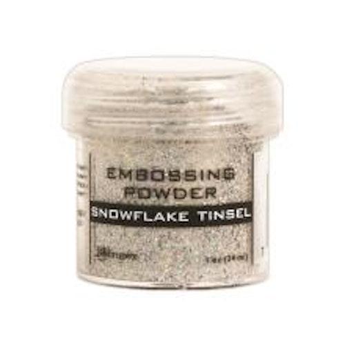 Ranger Embossing Powder - Snowflake Tinsel