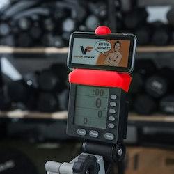 Mobilhållare Vapor Fitness Röd