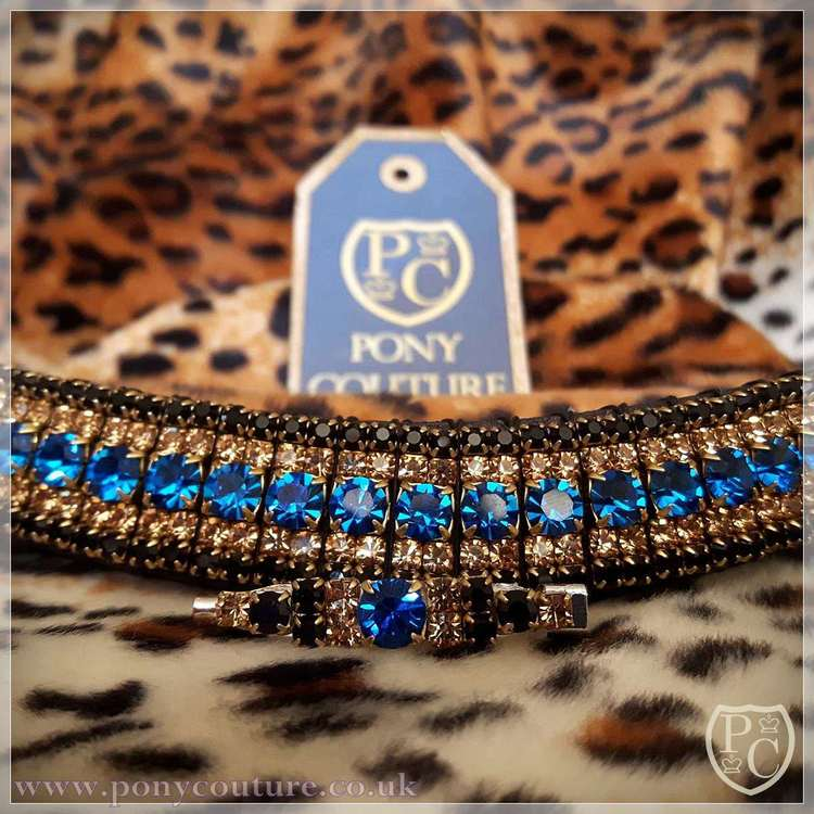 Flagship Colours Crystal AmazBling Browband (#PC230AB)