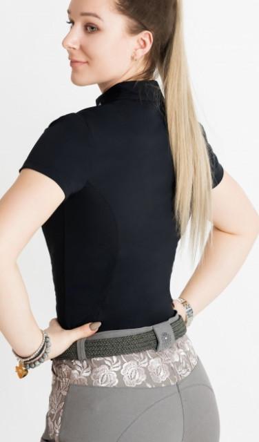 Dahlia Lehmann Blackberry Short Sleeve