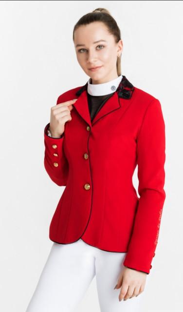 Dahlia Lehmann Red Show Jacket