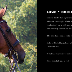 Utzon London double bridle