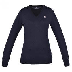 Classic Ladies Knitted Pullover V-neck