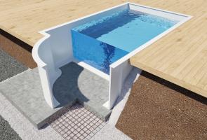 Glasfiberstomme - Scandinavian - Swimmingpool & Spa