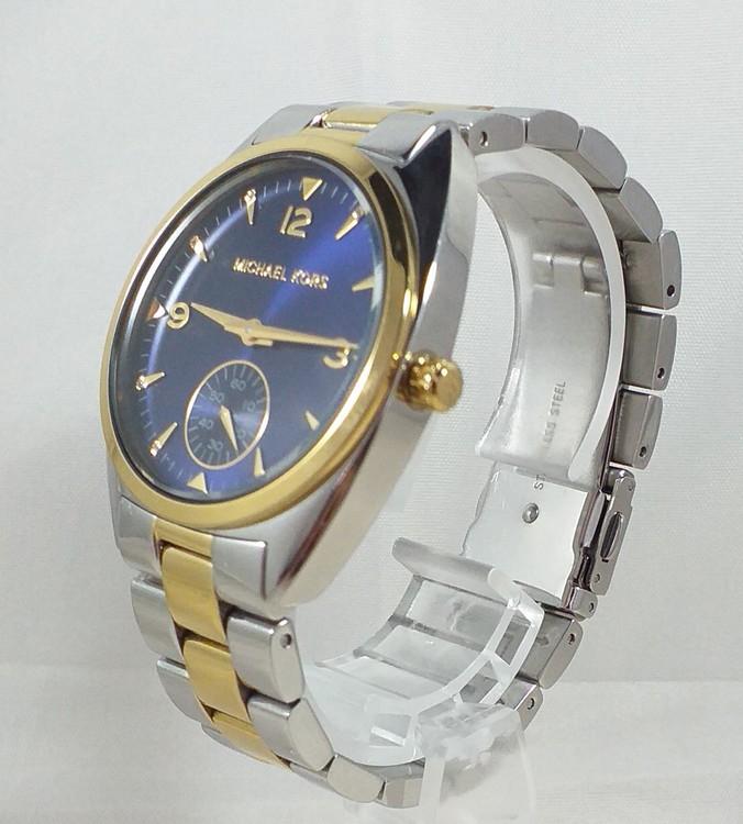 MICHAEL KORS MK3343 Callie Blue  tvåfärgad stållänk Unisex modell