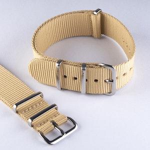 NATO-armband Beige/Khaki
