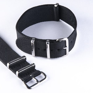 NATO-armband Black